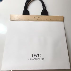 💯 Authentic IWC Shopping bag